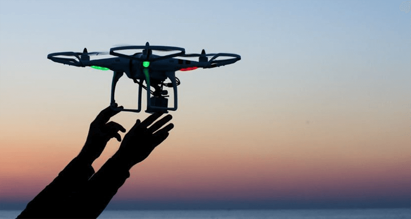 Can commercial drones fly without GPS