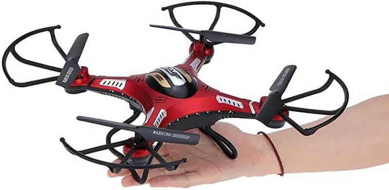JJRC H8D Drone Inspection