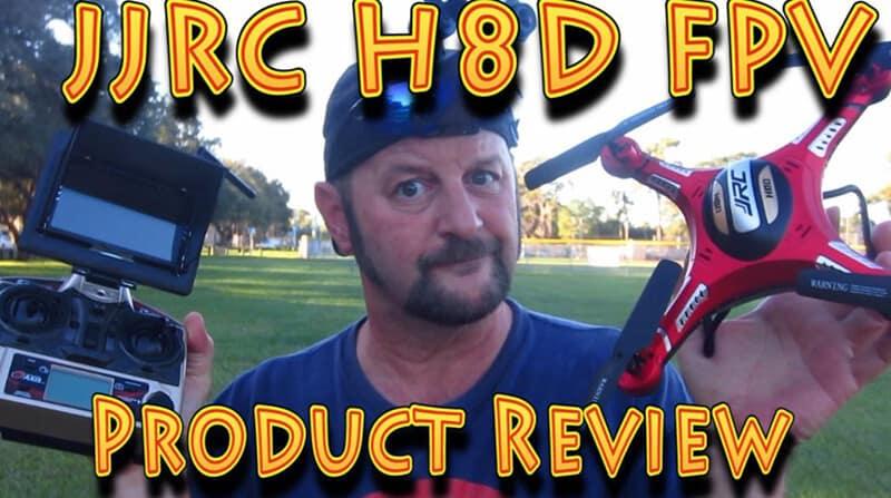 JJRC H8D FPV Review