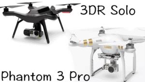 Solo Drone vs Phantom 3 - Drone Comparison