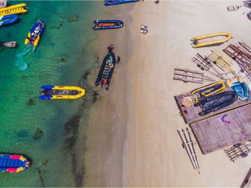 Fishing drone bait release