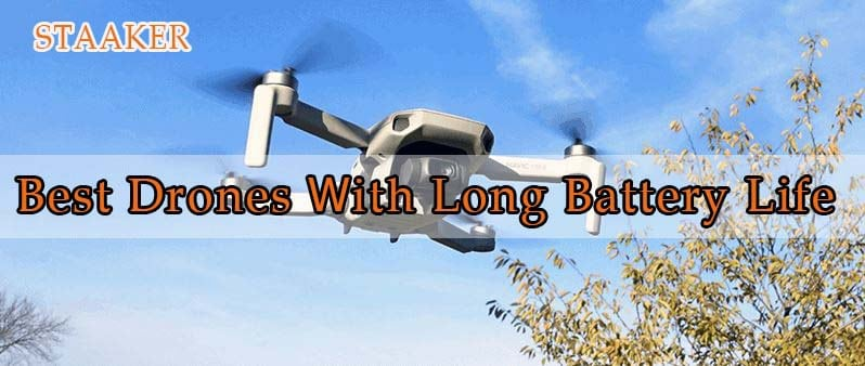 Best Drones For Long Battery Life 2021