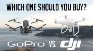 Gopro Karma vs DJI Phantom 4 - Drone Comparison