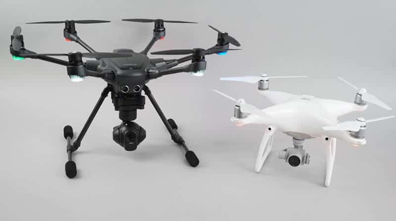 Typhoon Drone vs Phantom 3