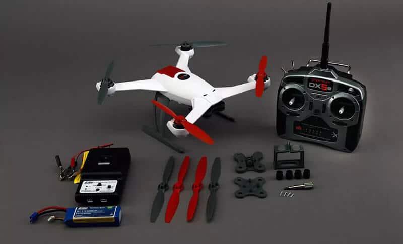 Blade 350 QX3 Review - Controller