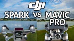 DJI Spark vs Mavic - Drone Comparison