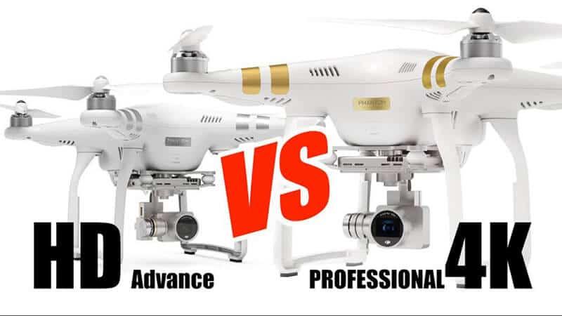 Difference Between DJI Phantom 3 Advanced Vs Pro