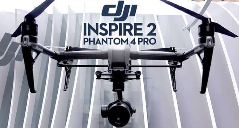 phantom 4 vs inspire - Camera
