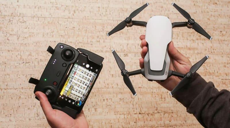 DJI Phantom 3 Vs Mavic air - Camera