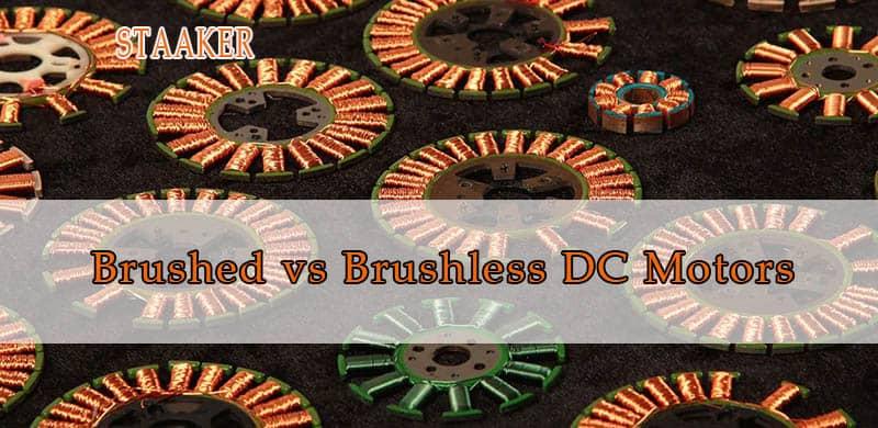 Brushed vs Brushless DC Motors