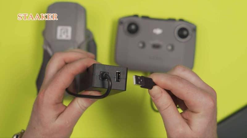 dji spark battery not charging fix