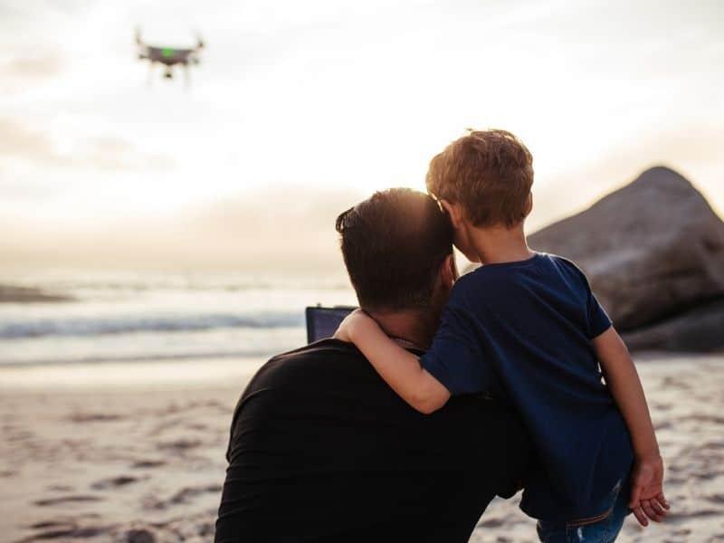 Drone anti-collision lights
