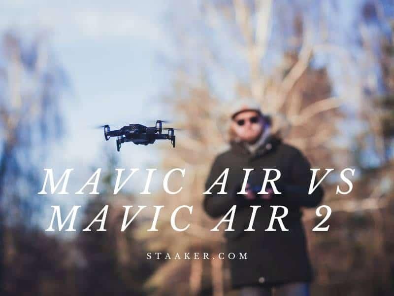 Mavic Air Vs Mavic Air 2 2021 Side-by-Side Comparison