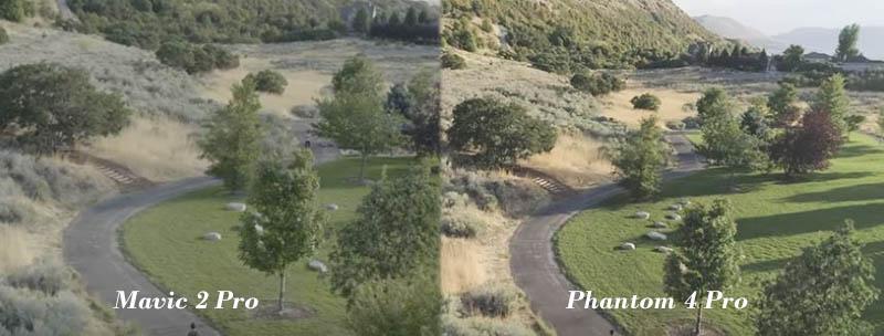 Mavic Pro 2 vs Phantom 4 Pro Image Quality