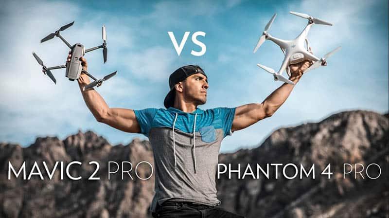 Mavic Vs Phantom 4 Pro 2021 Which Drone Should You Buy