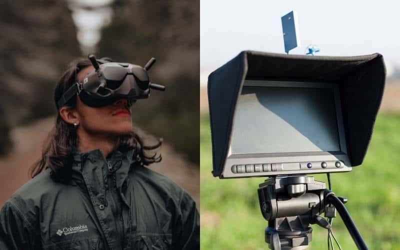 Monitor vs. FPV Goggles