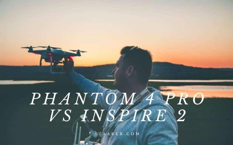 Phantom 4 Pro Vs Inspire 2 Head to Head Comparison
